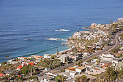 Aerial View of Laguna Beach Waterfront Homes