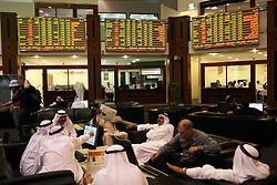 Dubai Financial Market .Photo by: Stephen Lock/i-Images