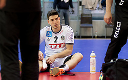 02.11.2016, Arena Nova, Wiener Neustadt, AUT, EHF, Handball EM Qualifikation, Österreich vs Finnland, Gruppe 3, im Bild Alexander Hermann (AUT)// during the EHF Handball European Championship 2018, Group 3, Qualifier Match between Austria and Finland at the Arena Nova, Wiener Neustadt, Austria on 2016/11/02. EXPA Pictures © 2016, PhotoCredit: EXPA/ Sebastian Pucher