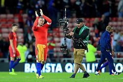 Wayne Rooney of England applauds the fans at full time - Mandatory by-line: Matt McNulty/JMP - 27/05/2016 - FOOTBALL - Stadium of Light - Sunderland, United Kingdom - England v Australia - International Friendly