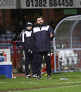Dundee manager Paul Hartley  - Dundee v Falkirk, William Hill Scottish Cup Fourth Round at Dens Park <br /> <br />  - &copy; David Young - www.davidyoungphoto.co.uk - email: davidyoungphoto@gmail.com