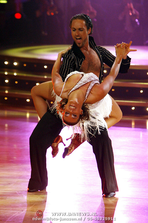 NLD/Baarn/20070527 - Finale Dancing with the Stars 2007, optreden Christophe Haddad en Ilse Lans