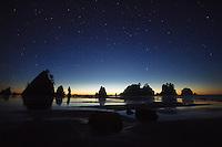 Shi Shi Beach in Olympic National Park, WA