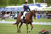 Charlotte East riding King Albert during the International Horse Trials at Chatsworth, Bakewell, United Kingdom on 11 May 2018. Picture by George Franks.