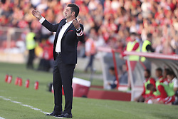 October 22, 2017 - Porto, Aves, Portugal - Benfica's Portuguese head coach Rui Vitoria during the Premier League 2017/18 match between CD Aves and SL Benfica, at Estadio do Clube Desportivo das Aves in Aves on October 22, 2017. (Credit Image: © Dpi/NurPhoto via ZUMA Press)