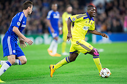 Jean Philippe Mendy of Maribor during football match between Chelsea FC and NK Maribor, SLO in Group G of Group Stage of UEFA Champions League 2014/15, on October 21, 2014 in Stamford Bridge Stadium, London, Great Britain. Photo by Vid Ponikvar / Sportida.com