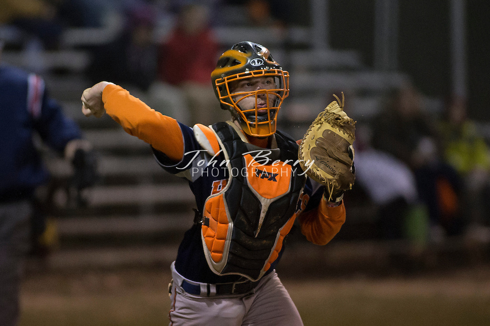 March 24, 2014.  <br /> MCHS Varsity Baseball vs Orange.  Madison scores two runs in the bottom of the seventh to come from behind and defeat Orange.