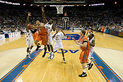 The Virginia Cavaliers faced the Georgia Tech Yellow Jackets in the first round of the 2008 ACC Men's Basketball Tournament at the Charlotte Bobcats Arena in Charlotte, NC on March 13, 2008.