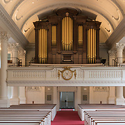 Pipe organ at the Harvard Memorial Church, Cambridge, MA, built by C.B. Fisk, Inc. of Gloucester, MA