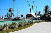 CABO FRIO, RJ, 29.12.2013 - PALCO REVEILLON / CABO FRIO / PRAIA DO FORTE-  Palco onde serão realizados os shows de reveillon, na praia do forte, em cabo Frio, região dos lagos.(Foto: Marcelo Fonseca / Brazil Photo Press).