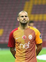 Turkey superlig match between Galatasaray and Kardemir Karabukspor at Turk Telekom Arena in Istanbul , Turkey , August 22  ,2016.<br /> Final Score : Galatasaray 1 - Kardemir Karabukspor 0<br /> Pictured: Wesley Sneijder of Galatasaray .