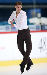 03.12.2015, Dom Sportova, Zagreb, CRO, ISU, Golden Spin of Zagreb, Kurzprogramm Herren, im Bild Matthias Versluis, Finland // during the 48th Golden Spin of Zagreb 2015 Male Short Program of ISU at the Dom Sportova in Zagreb, Croatia on 2015/12/03. EXPA Pictures © 2015, PhotoCredit: EXPA/ Pixsell/ Slavko Midzor<br /> <br /> *****ATTENTION - for AUT, SLO, SUI, SWE, ITA, FRA only*****