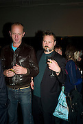JOHNNIE SHAND KYDD AND JUERGEN TELLER.  Opening of Street & Studio exhibition at Tate Modern on Tuesday 20 May 2008.  *** Local Caption *** -DO NOT ARCHIVE-© Copyright Photograph by Dafydd Jones. 248 Clapham Rd. London SW9 0PZ. Tel 0207 820 0771. www.dafjones.com.