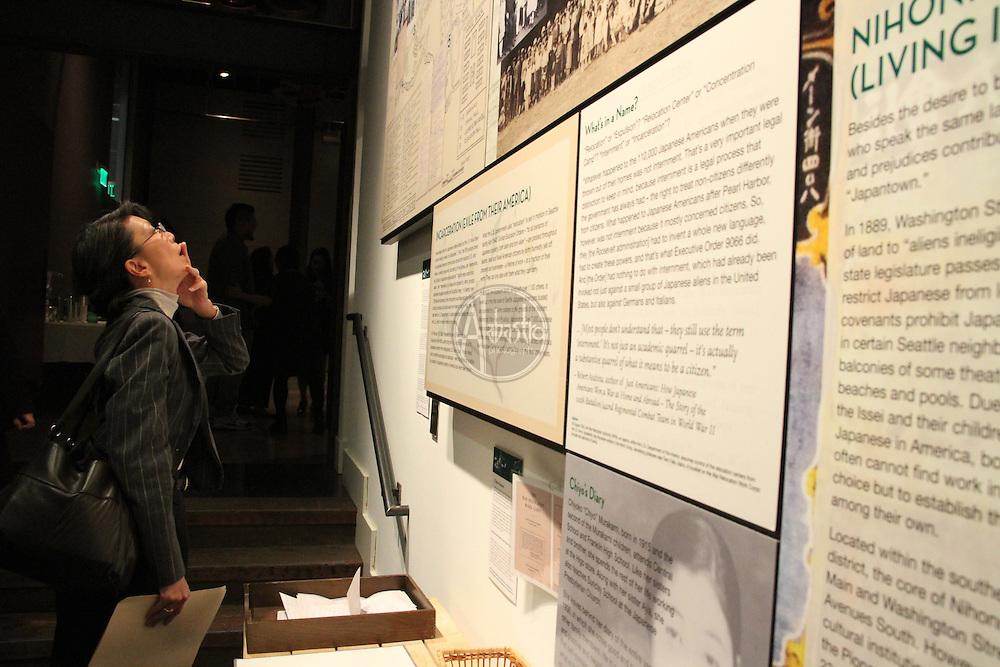 """""""Meet Me at Higo"""" exhibit opening night at the Wing Luke Museum."""