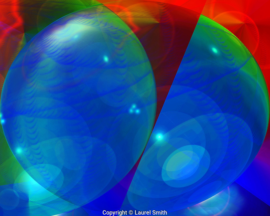 Symphony of Light #91 ~ Wandering Into Other Worlds ~ © Laurel Smith