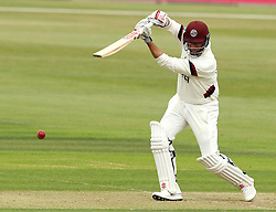 Somerset's Marcus Trescothick drives into the offside - Photo mandatory by-line: Robbie Stephenson/JMP - Mobile: 07966 386802 - 21/06/2015 - SPORT - Cricket - Southampton - The Ageas Bowl - Hampshire v Somerset - County Championship Division One