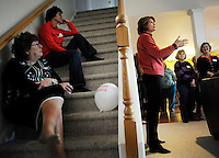 "KENAI, AK- October 1:  At a Lisa Meet & Greet"" Senator Murkowski speaks to supporters... Senator Lisa Murkowski (R-AK) campaigns as a write-in candidate to be re elected to Alaska's Senate seat, in Kenai, Alaska, Friday, October 1, 2010. Joe Miller narrowly defeated incumbent Senator Lisa Murkowski in the republican primary. (Melina Mara/The Washington Post) ."