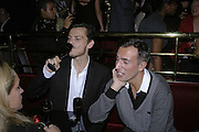 Matthew Williamson and Joseph Allosa, Bazaar and Moet  Black, White and Gold party. Ronnie Scott's. Frith St. London. 16 november 2006. ONE TIME USE ONLY - DO NOT ARCHIVE  © Copyright Photograph by Dafydd Jones 66 Stockwell Park Rd. London SW9 0DA Tel 020 7733 0108 www.dafjones.com
