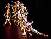 Compnay Wayne McGregor &amp; Paris Opera Ballet's <br /> Tree of Codes <br /> a collaboration by Wayne McGregor, Olafur Eliasson &amp; Jamie XX <br /> at Sadler's Wells, London, Great Britain <br /> rehearsal 3rd March 2017 <br /> using die-cut images from Jonathan Safran Foer's novel, supported by the Monument Trust <br /> <br /> Company Wayne McGregor <br /> Catarina Carvalho<br /> Travis Clausen-Knight <br /> Alvaro Dule<br /> Louis McMiller<br /> Daniela Neugebauer <br /> James Pett <br /> Fukiko Takase<br /> Po-Lin Tung<br /> Jessica Wright <br /> <br /> Paris Opera Ballet <br /> Marie-Agnes Gillot <br /> Jeremie Belingard<br /> Lydie Vareilhes<br /> Sebastien Bertaud <br /> Julien Meyzindi <br /> Lucie Fenwick <br /> <br /> Photograph by Elliott Franks <br /> Image licensed to Elliott Franks Photography Services