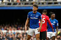 Football - 2019 / 2020 Premier League - Everton vs. Manchester United<br /> <br /> Dominic Calvert-Lewin of Everton, at Goodison Park.<br /> <br /> COLORSPORT/ALAN MARTIN
