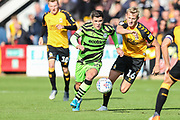 Forest Green Rovers Jack Aitchison(29), on loan from Celtic during the EFL Sky Bet League 2 match between Cambridge United and Forest Green Rovers at the Cambs Glass Stadium, Cambridge, England on 7 September 2019.