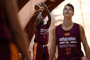 Aaron Thomas<br /> Virtus Roma - Cuore Napoli Basket<br /> LNP - Amichevole<br /> Roma, 24/09/2017<br /> Foto G.Masi / Ciamillo - Castoria