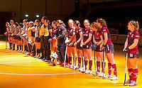 ROTTERDAM -  tijdens het Landskampioenschap reserveteam zaal 2013. FOTO KOEN SUYK