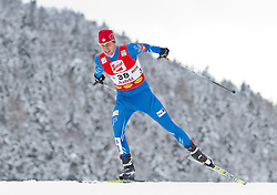 19.12.2011, Casino Arena, Seefeld, AUT, FIS Nordische Kombination, Langauf 10 km, im Bild Tomas Slavik (CZE) // Tomas Slavik of Czech Republic during the cross-country skiing 10 km at FIS Nordic Combined World Cup in Sefeld, Austria on 20111211. EXPA Pictures © 2011, PhotoCredit: EXPA/ P.Rinderer