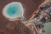 Aerial flight above Shak Bay, Werst Australia. 8June 2017