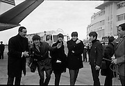 The Beatles arrive in Ireland to play their only gig in the country in the Adelphi Cinema on 7 November 1963.<br /> 01.11.1963