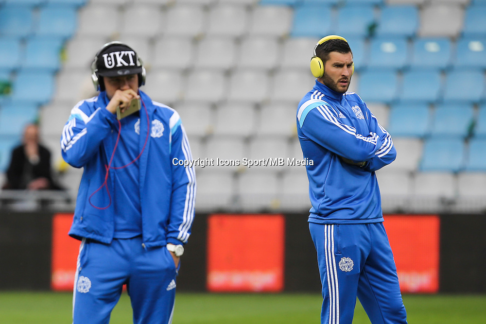 Andre Pierre GIGNAC / Florian THAUVIN - 17.04.2015 - Nantes / Marseille - 33eme journee de Ligue 1<br />