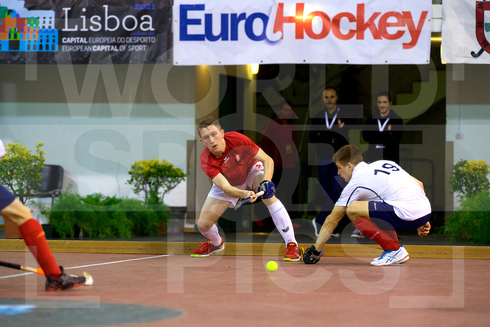 2017 EuroHockey Indoor Junior Championship (M)<br /> 07 Russia - Poland<br /> Foto: .<br /> FFU PRESS AGENCY COPYRIGHT FRANK UIJLENBROEK