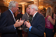 GALEN WESTON; HUGO VICKERS, Juliet Nicolson - book launch party for  her latest novel Abdication, about British society after the death of George V.  The Gallery at The Westbury, 37 Conduit Street, Mayfair, London, 12 June 2012