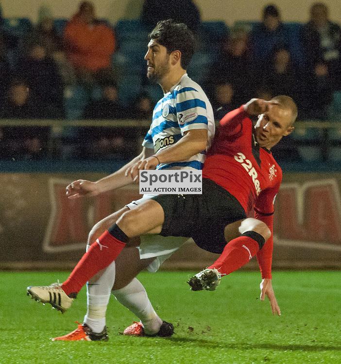 #9 Kenny Miller (Rangers) scores for 0-1 • Greenock Morton v Rangers • Ladbrokes Championship • 25 January 2016• © Russel Hutcheson   SportPix.org.uk