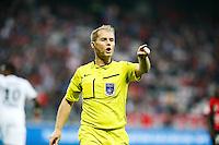 Philippe Kalt - 02.05.2015 - Nice / Caen - 35eme journee de Ligue 1<br />Photo : Sebastien Nogier / Icon Sport