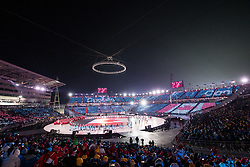 PYEONGCHANG-GUN, SOUTH KOREA - FEBRUARY 09: Opening Ceremony of the PyeongChang 2018 Winter Olympic Games at PyeongChang Olympic Stadium on February 9, 2018 in Pyeongchang-gun, South Korea. Photo by Kim Jong-man / Sportida