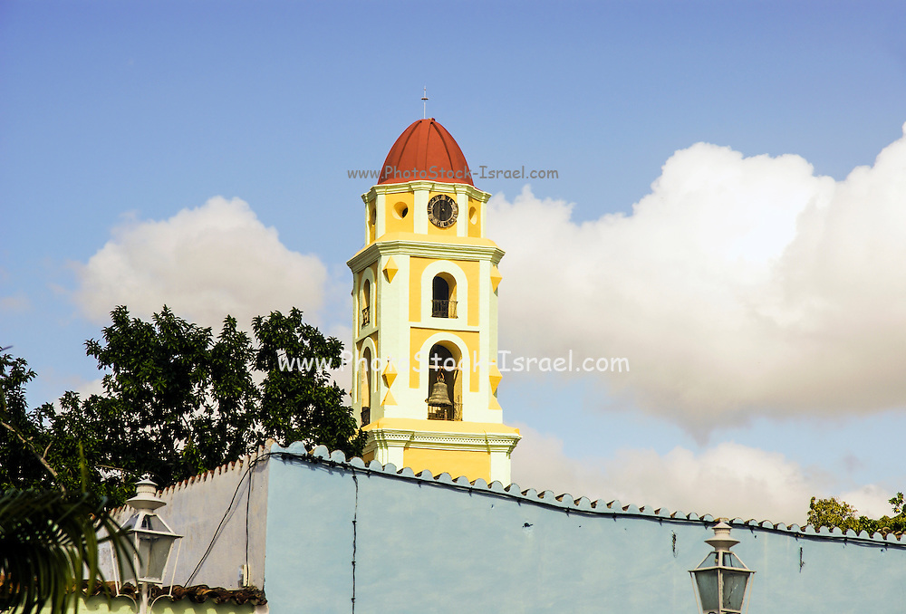 Cuba, Trinidad. San Francisco Convent and Cathedral