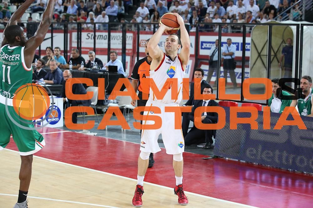 DESCRIZIONE : Roma semifinale gara 4 playoff 2013-2014 Acea Roma Montepaschi Siena<br /> GIOCATORE : Jimmy Baron<br /> CATEGORIA : three points<br /> SQUADRA : Acea Roma<br /> EVENTO : semifinale gara 4 playoff 2013-2014<br /> GARA : Acea Roma Montepaschi Siena<br /> DATA : 06/06/2014<br /> SPORT : Pallacanestro <br /> AUTORE : Agenzia Ciamillo-Castoria/M.Simoni<br /> Galleria : playoff 2013-2014<br /> Fotonotizia : Roma semifinale gara 4 playoff 2013-2014 Acea Roma Montepaschi Siena<br /> Predefinita :