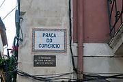 Praca do Comercio, (Commercial square) old town, Coimbra, Portugal