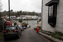 UK ENGLAND FOWEY 19FEB15 - View of Bodinnick in Fowey, Cornwall, England. Fowey, a small fishing and harbour village was the living place of famous English writer Daphne Du Maurier and many of her novels are based here.<br /> <br /> jre/Photo by Jiri Rezac<br /> <br /> © Jiri Rezac 2015