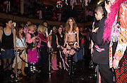 25th anniversary party and fashion show by Agent Provocateur at the Cafe de Paris, Coventry Street, London W1 on 14th February 2005.ONE TIME USE ONLY - DO NOT ARCHIVE  © Copyright Photograph by Dafydd Jones 66 Stockwell Park Rd. London SW9 0DA Tel 020 7733 0108 www.dafjones.com