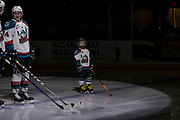 KELOWNA, CANADA - MARCH 07:  Pepsi Player in the lineup with Gordie Ballhorn #4 of the Kelowna Rockets at the Kelowna Rockets game on March 07, 2017 at Prospera Place in Kelowna, British Columbia, Canada.  (Photo By Cindy Rogers/Nyasa Photography,  *** Local Caption ***