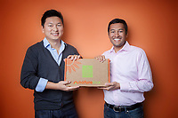 Nature Box founders Gautam Gupta and Kenneth Chen for Nature Box.