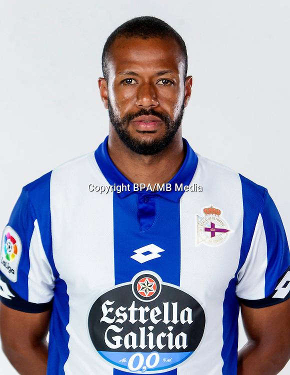 Spain - La Liga Santander 2016-2017 / <br /> ( R.C. Deportivo de La Coruna ) - <br /> Sidnei Rechel da Silva Junior &quot; Sidnei &quot;