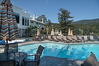 Rosario Resort swimming pool, Orcas Island San Juan Islands Washington