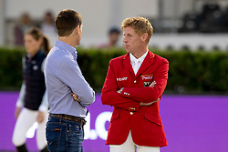Philippaertsd Nicola, BELEhning Markus, GER<br /> Longines FEI Jumping Nations Cup™ Final<br /> Barcelona 20128<br /> © Hippo Foto - Dirk Caremans<br /> 05/10/2018
