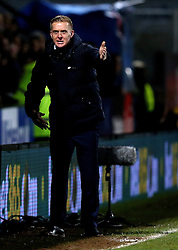 Leeds United manager Garry Monk looks angry - Mandatory by-line: Robbie Stephenson/JMP - 09/01/2017 - FOOTBALL - Cambs Glass Stadium - Cambridge, England - Cambridge United v Leeds United - FA Cup third round