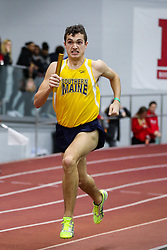 BU Terrier Indoor track meet<br /> 4x400 relay, Southern Maine, Hoyle