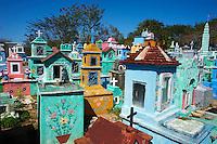 Mexique, Etat du Yucatan, Hoctun, cimetiere maya  // Mexico, Yucatan state, Hoctun, Mayan cemetery