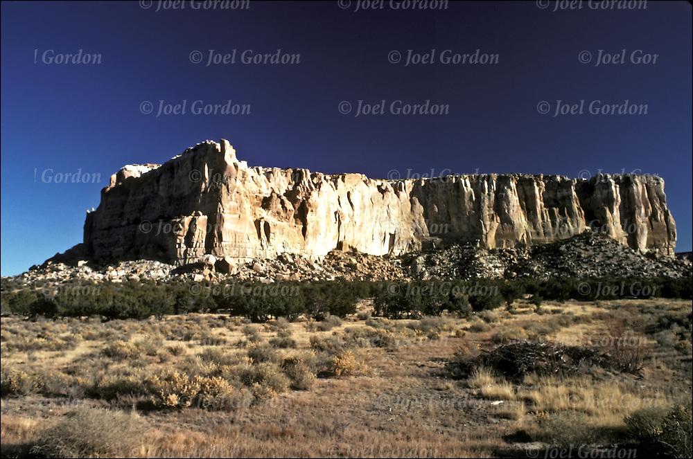 Dowa Yalanne or Corn Mountain on the Zuni Reservation